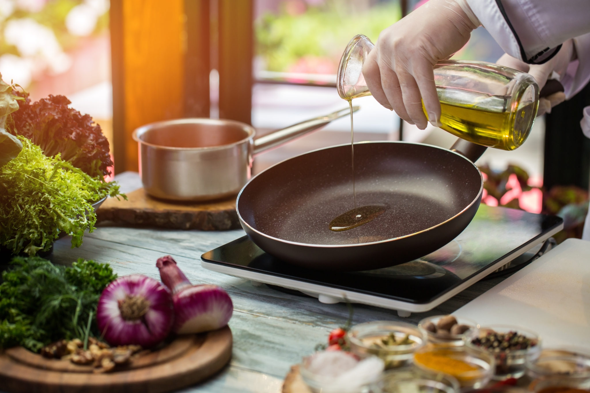 Cooking with Extra Virgin Olive Oil – Healthcare Professional Version