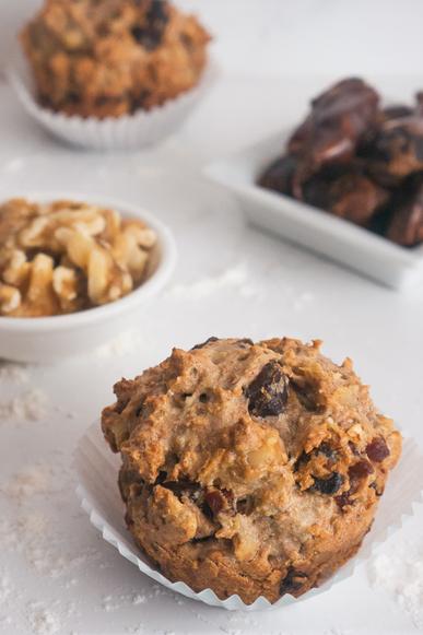 Date & Walnut Muffins