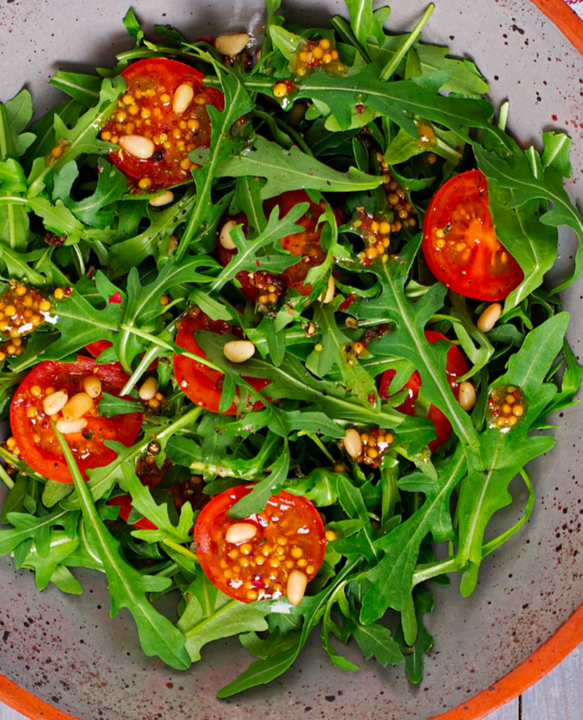 Warm Curried Tomato Salad