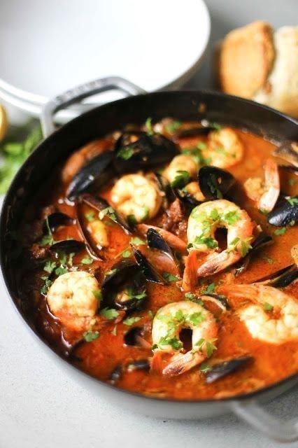 Greek-Style Fish Soup (KAKAVIA)