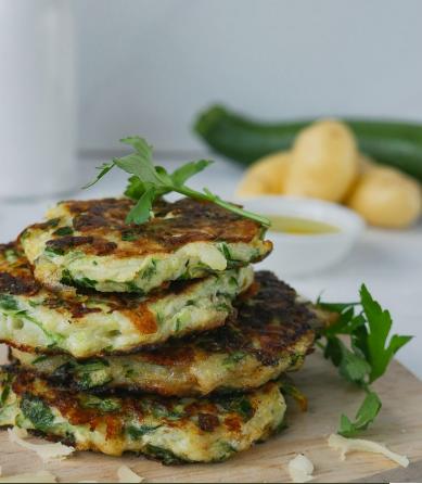 Zucchini Potato Pancake